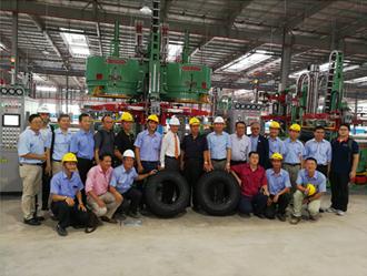 ケンダの新たな試み:ベトナム工場において一本目となるタイヤを生産