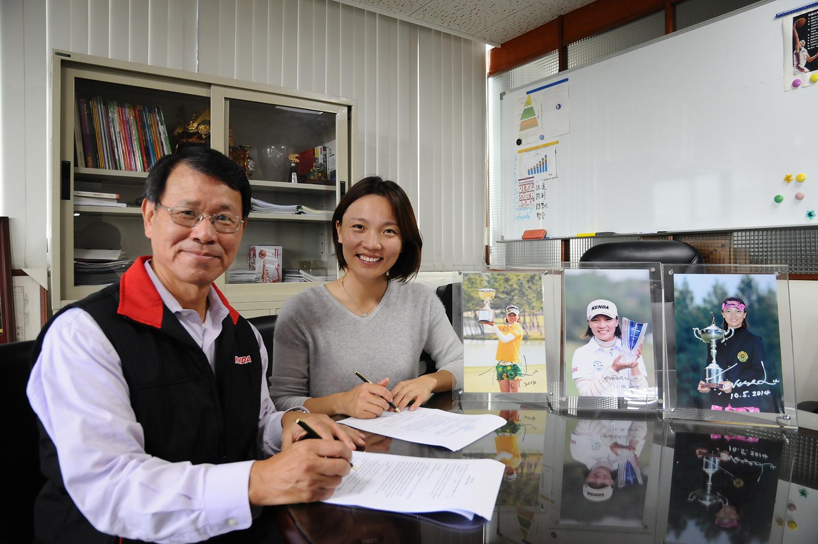 KENDA、プロゴルファー 盧曉晴(テレサ・ルー)選手を継続サポート