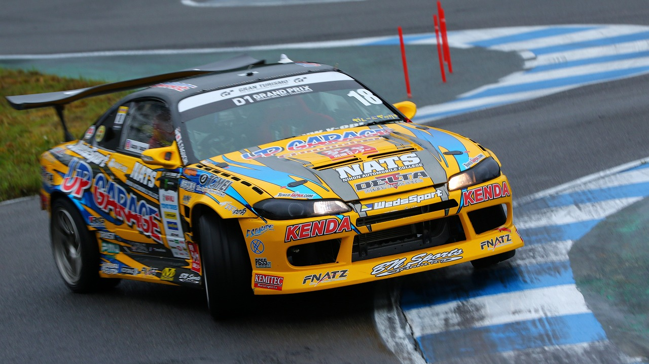 D1グランプリ:8/18~20@エビスサーキット 田口和也選手